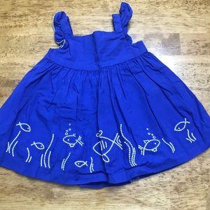 🐟 GYMBOREE Baby Dress 0-3M 🐟 EUC